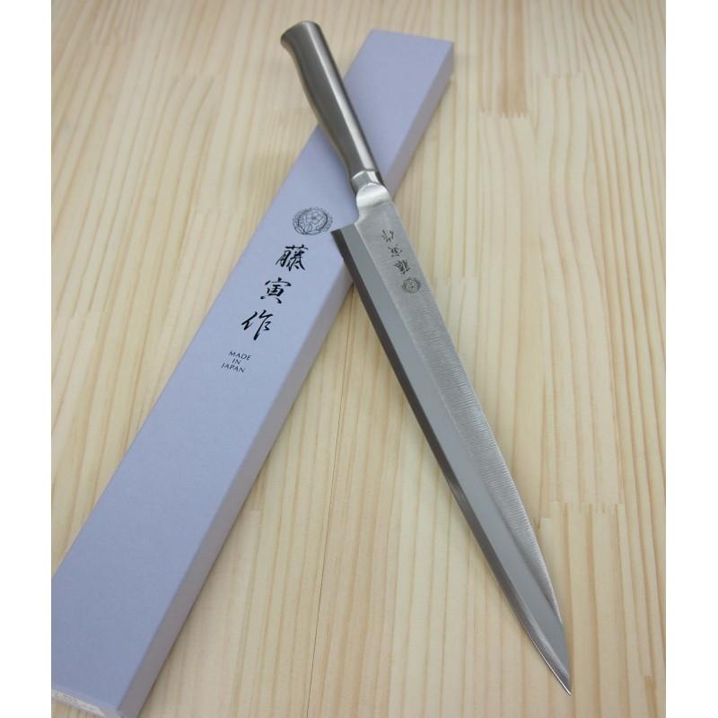 Faca japonesa yanagiba FUJITORA (Antiga tojiro pro) - Tam:21/24/27/30cm