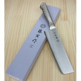 Faca japonesa nakiri FUJITORA - (Antiga Tojiro pro) - Tam:16.5cm