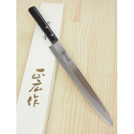 Faca japonesa yanagiba - MASAHIRO - Série Masahiro inox - Tam: 20/24/27cm