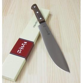 Faca japonesa do chef - atama otoshi - MASAHIRO - Para abrir peixes - fio de uma lado para destros