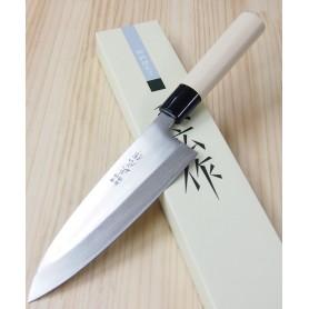 Faca japonesa deba para canhoto MASAHIRO série inox Tam:12/15/18cm
