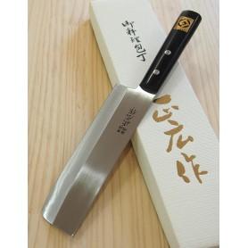 Faca japonesa usuba - MASAHIRO - Série Masahiro inox - Tam:16,5cm