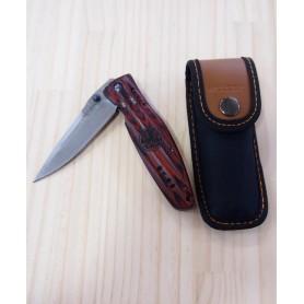 Canivete Mcusta Vg10 Damascus Série Sengoku - Tokugawa Ieyasu - 94mm