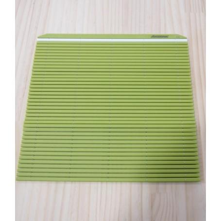 Esteira ( sudare ) profissional de plástico para sushi - Cor verde - Hasegawa Makisu