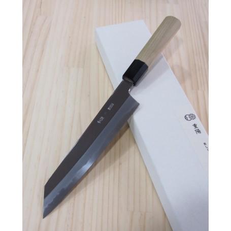 Faca japonesa Kiritsuke gyuto SAKAI KIKUMORI Série Choyo white steel Tam:21/24/27cm