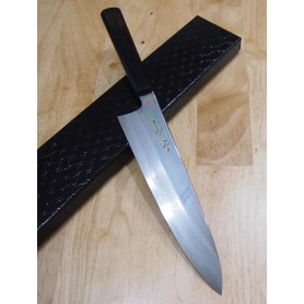 faca japonesa do chef gyuto KAGEKIYO Blue 1 damascus Tam:24cm