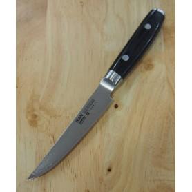 Faca japonesa steak knife - YAXELL - Série RAN - Aço VG10 damascus 69 camadas - Tam:11cm