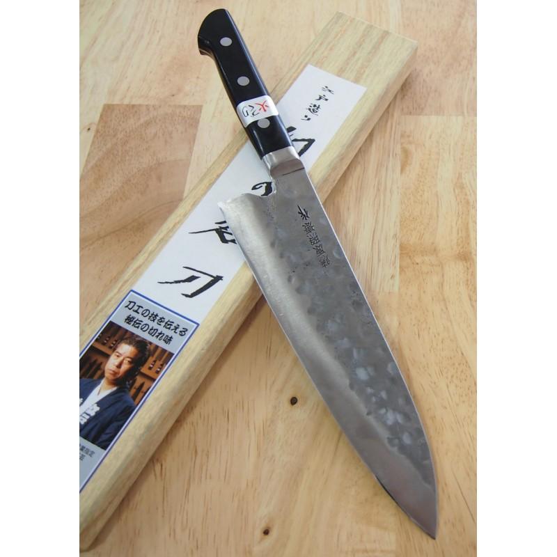 Faca japonesa do chef gyuto TERUYASU FUJIWARA Maboroshi Tam:21cm