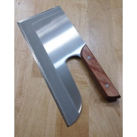 faca sobakiri menkiri MIURA Aço inox para canhotos Tam:30cm