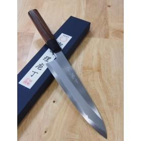 Faca japonesa do chef gyuto para destro MIURA -Série Itadaki - Rosewood - Tam:21/24cm